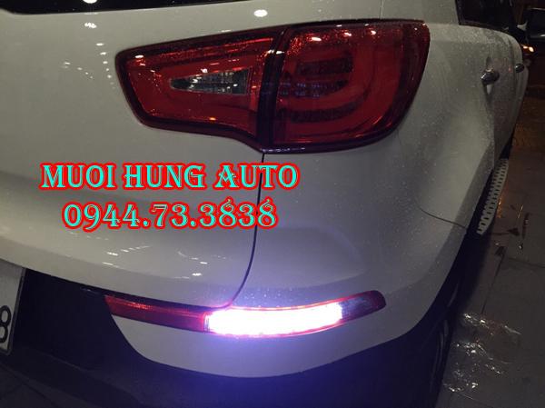 Độ đèn hậu xe Kia Sportage