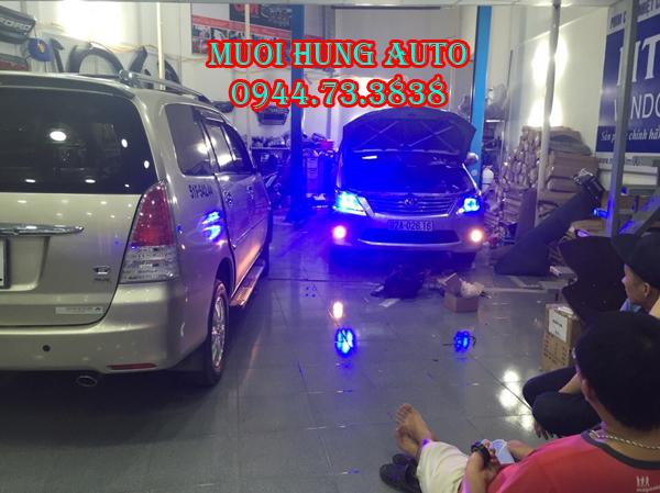 Dịch vụ độ đèn pha Innova