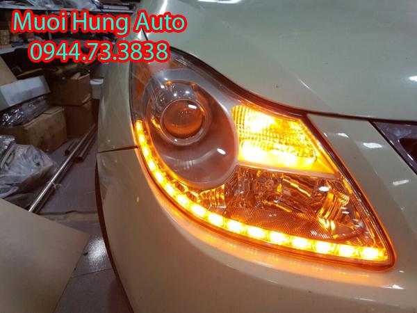 giá độ đèn Led bi xenon xe ô tô tại TPHCM