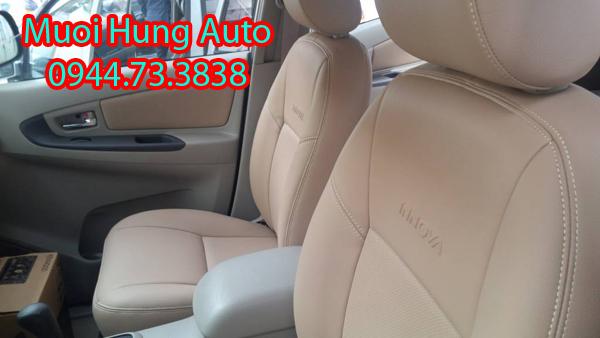 ghế da xe Toyota Innova