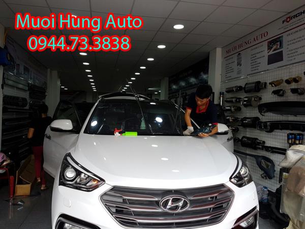 dán film 3M chính hãng cho xe Hyundai Santafe tại TPHCM