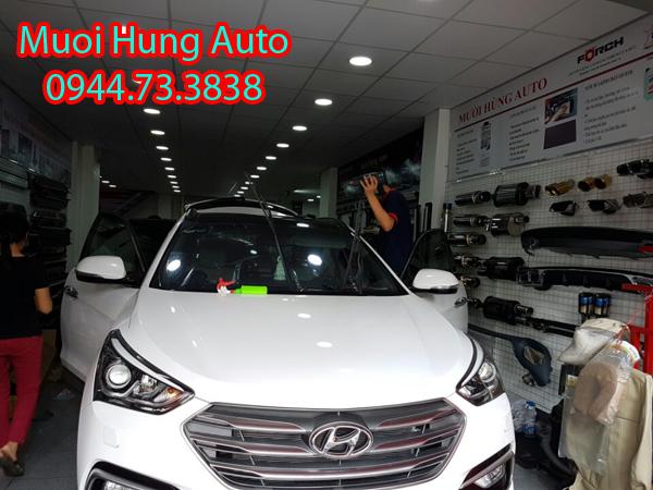 dán film 3M cho xe Hyundai Santafe tại TPHCM