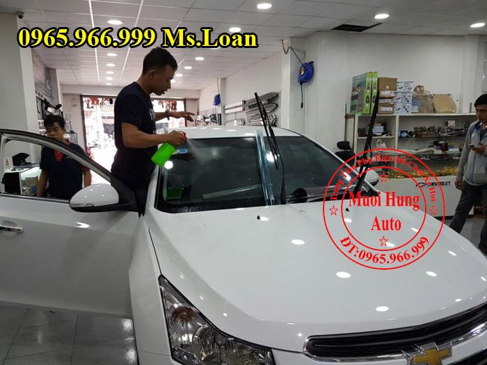 dán film cách nhiệt LLumar cho xe Hyundai Elantra