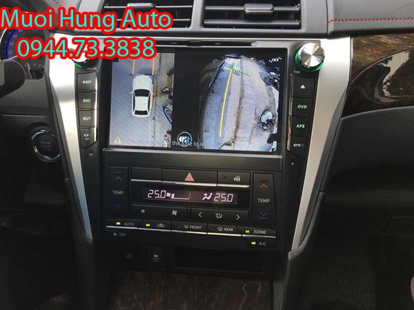 Gắn camera 360 độ cho xe Camry tại TPHCM
