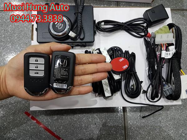 dịch vụ lắp chìa khóa thông minh Start Stop Honda Civic