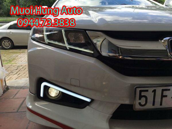 dịch vụgắn đèn Led Cản Zin theo xe Honda City 2016