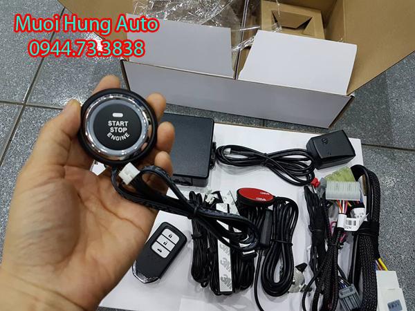 lắp chìa khóa thông minh Start Stop cho xe Honda Civic
