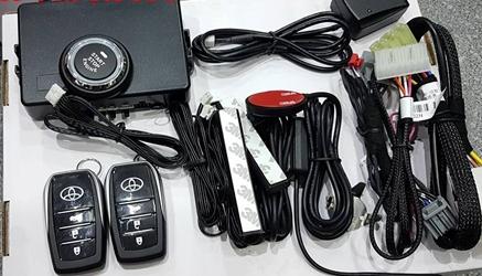 gắn chìa khóa thông minh Start Stop xe Innova tại TPHCM