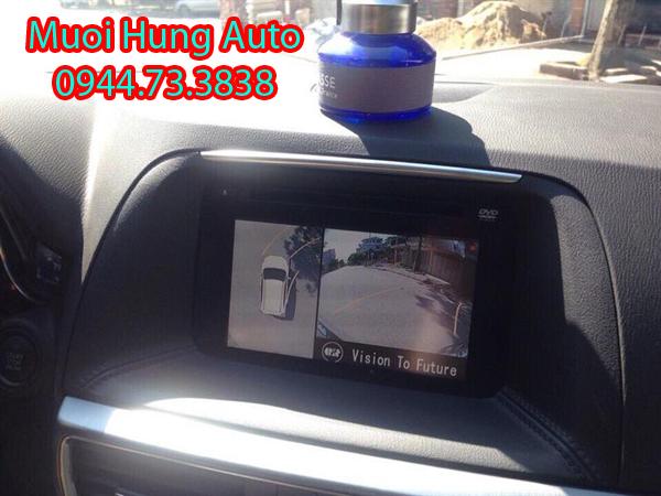 gắn camera 360 độ xe mazda cx5 chuyên nghiệp