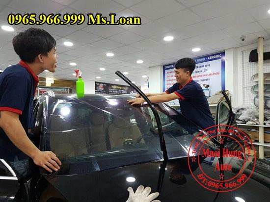 dán phim cách nhiệt 3M Honda Civic chính hãng chuyên nghiệp