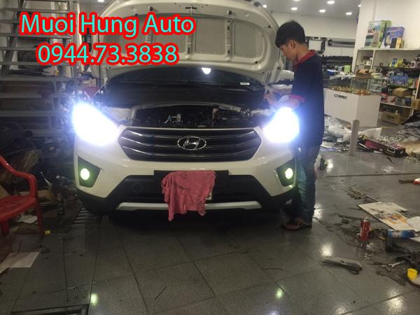 dịch vụ độ đèn gầm giá rẻ chất lượng cho xe ô tô
