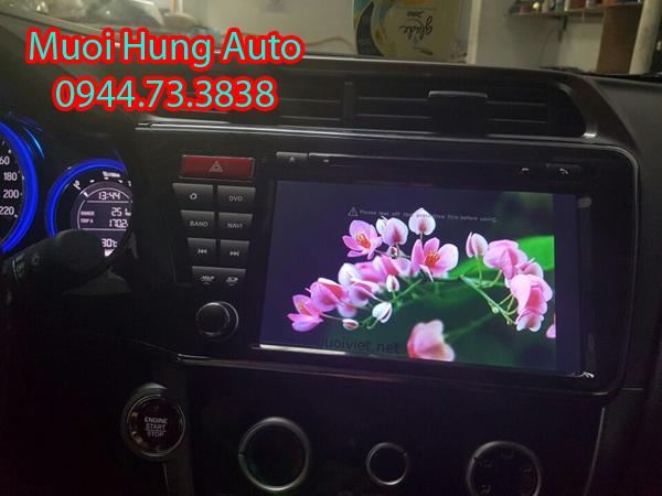 gắn màn hình DVD Android Hyundai Santafe