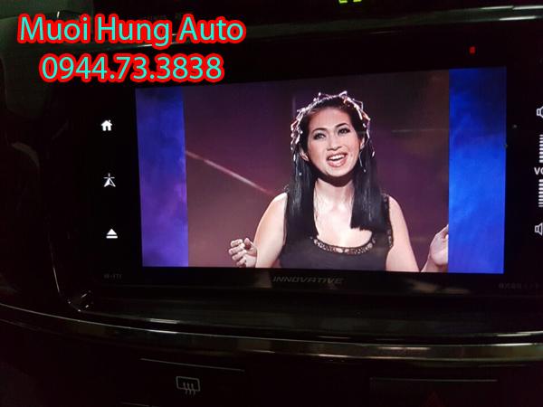 gắn màn hình DVD zin theo xe Mazda 3 chính hãng