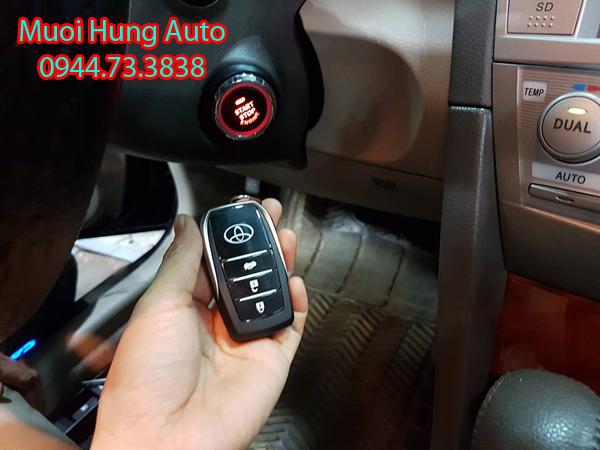 lắp chìa khóa thông minh Start Stop cho xe Toyota Altis tại TPHCM