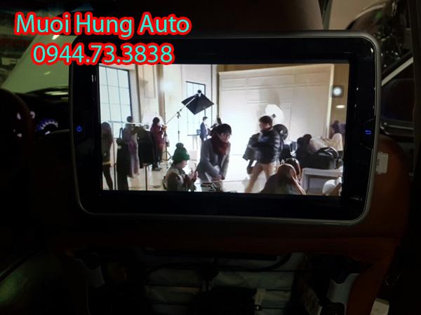 lắp màn hình gối đầu cao cấp Androi cho ô tô uy tína tại HCM