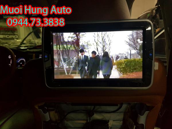 lắp màn hình gối đầu cao cấp Androi cho ô tô uy tín