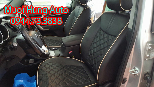Bọc ghế da cao cấp xe Toyota Fortuner 2017