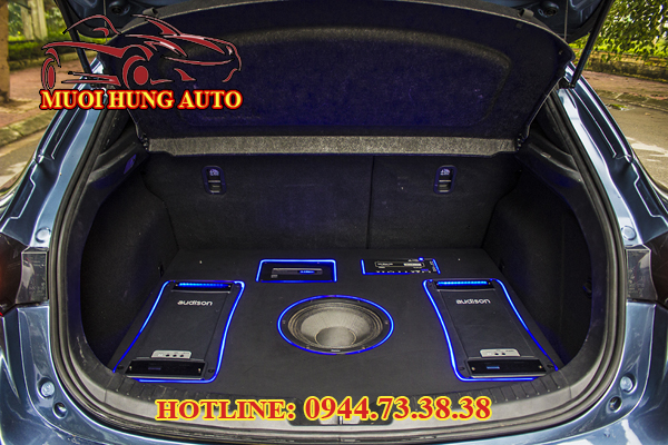 gắn âm thanh cho xe ô tô tại HCM