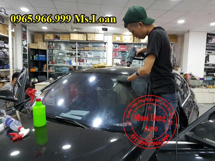 dán phim cách nhiệt 3M xe Mazda CX5 uy tín tại TPHCM