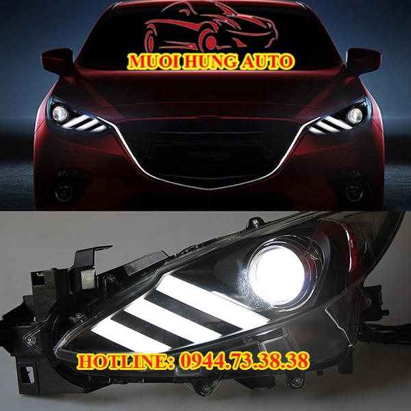 Độ đèn led xe Mazda 3