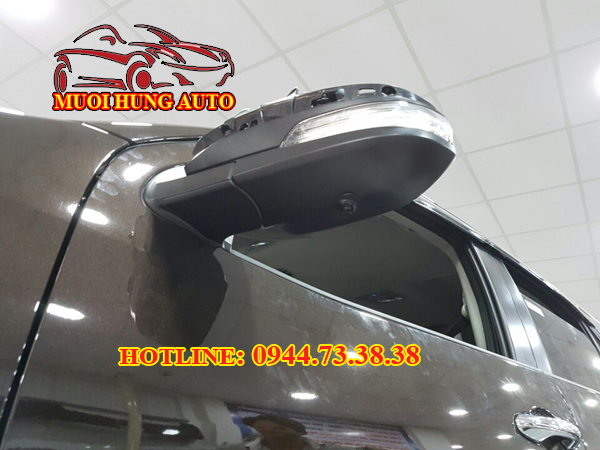 camera 360 độ Toyota Fotuner 2017