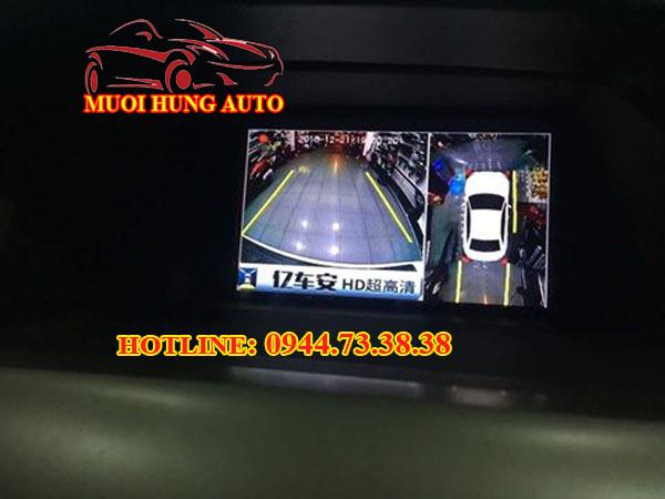 gắn Camera 360 độ xe Toyota Vios