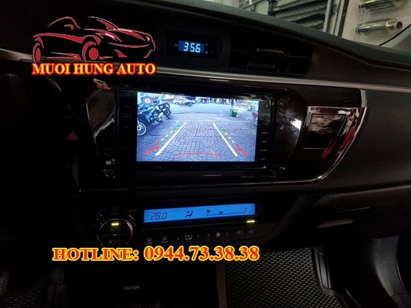 lắp đặt camera de giá rẻ Toyota Altis 2017