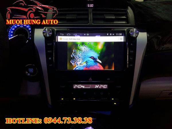 lắp màn hình DVD xe Hilux giá rẻ