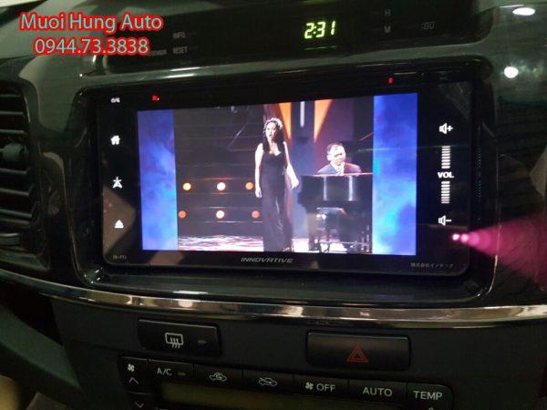 màn hình dvd theo xe Hyundai Accent