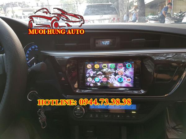 màn hình DVD dành cho xe Altis 2017
