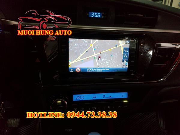 màn hình DVD theo xe Altis 2017