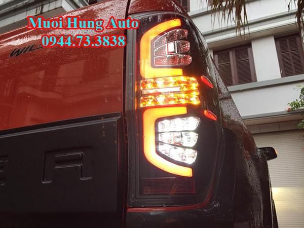 độ đèn hậu xe Ford Ranger
