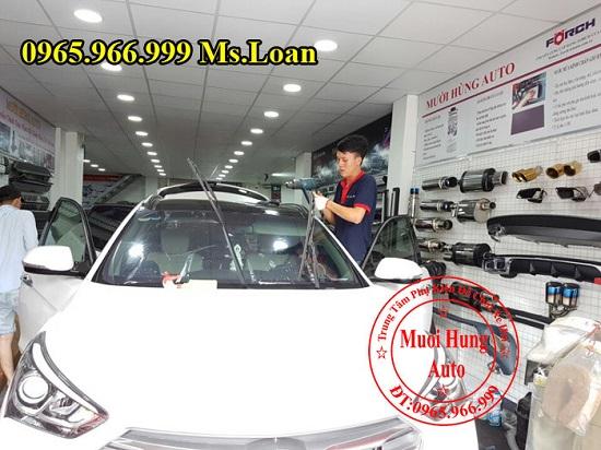 dán phim LLumar USA cho xe ô tô Mazda CX5