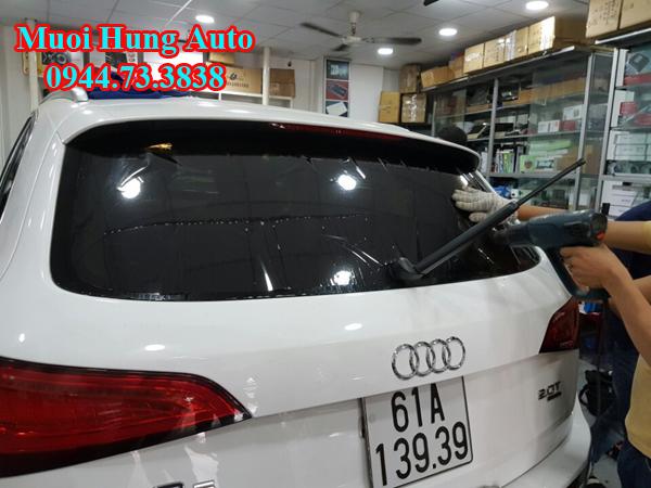 dán phim chống nóng 3M USA xe Audi