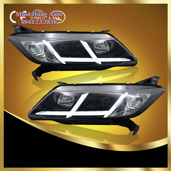 độ đèn xe Honda City tại HCM