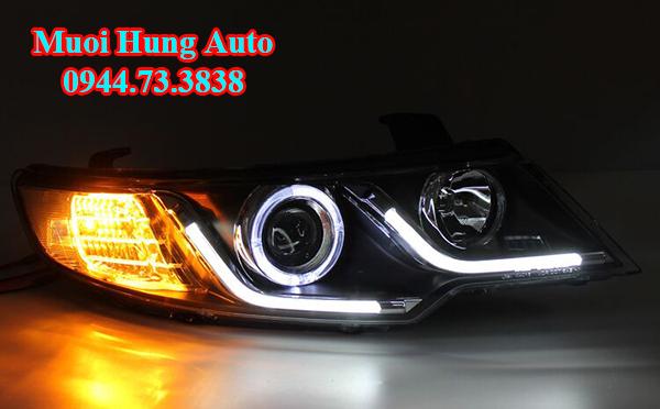 độ đèn LED cho xe Kia K3