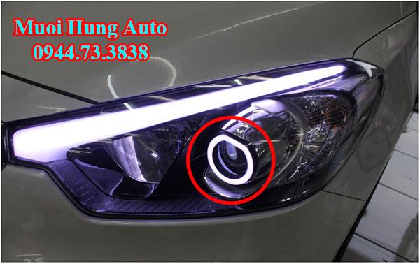 độ đèn xenon cho xe Kia K3