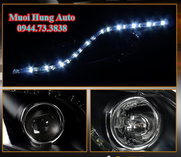 độ đèn pha xe Honda Civic 2017