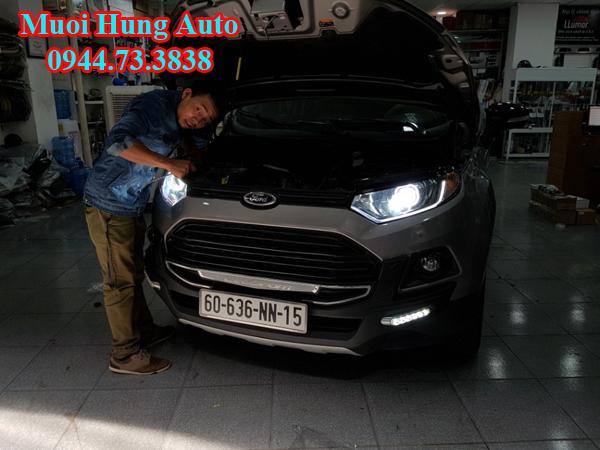 độ đèn xenon Ford Ecosport