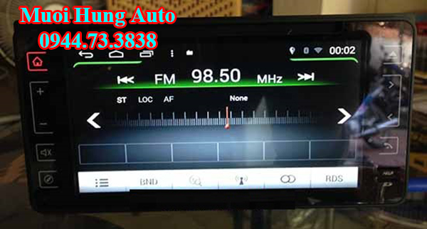 lắp đặtmàn hình DVD Zin theo xe Mazda 2 tại HCM