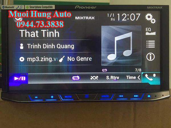 Gắn màn hình DVD Zin theo xe Mazda 2