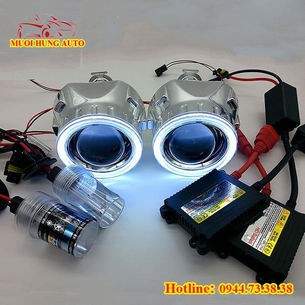 độ đèn led xe Mazda 2