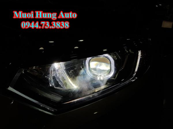 lắp đèn led cho xe Ford Ecosport