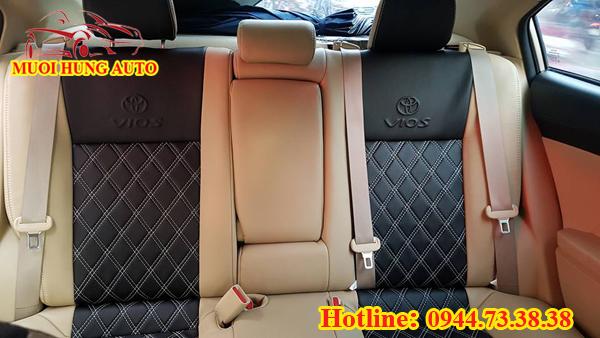 bọc ghế da xe Toyota Vios 2017
