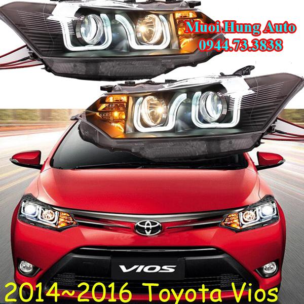Độ đèn cho xe Toyota Vios