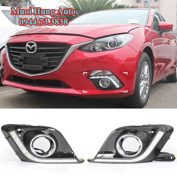 độ đèn Led cản cho xe Mazda 3 tại TPHCM
