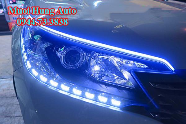 Độ đèn pha xe Honda CRV 2017