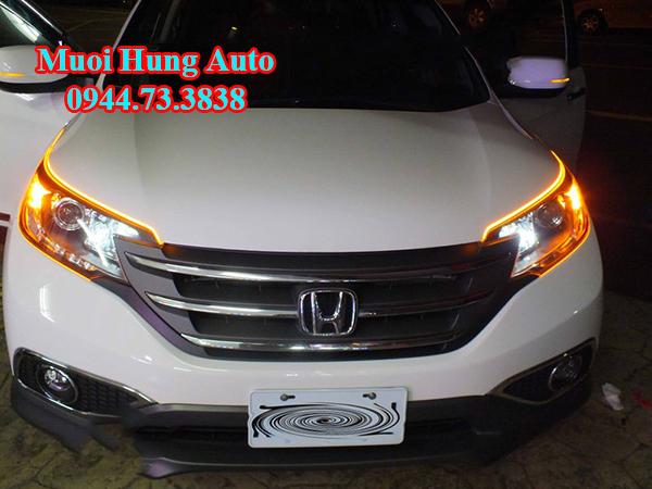 Độ đèn pha xe Honda CRV