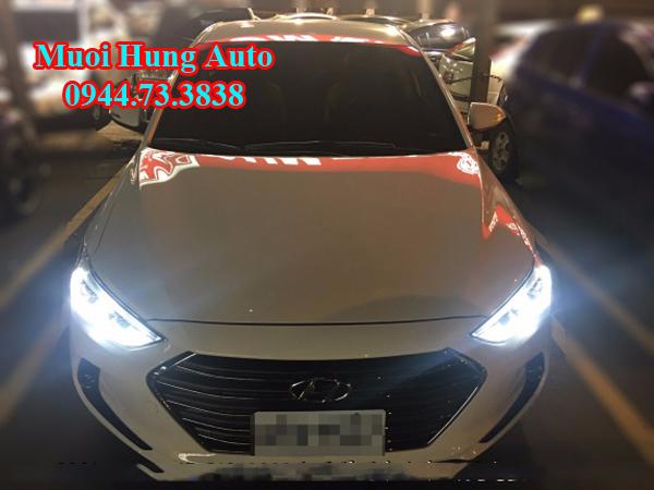 độ đèn siêu sáng cho xe Hyundai Elantra