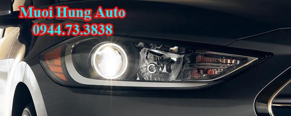 độ đèn LED siêu sáng cho xe Hyundai Elantra